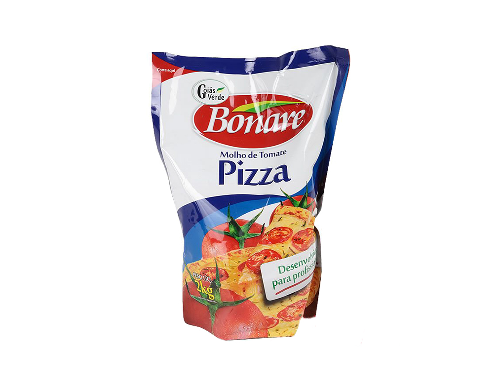 MOLHO PIZZA BONARE GOIÁS VERDE 2 KG