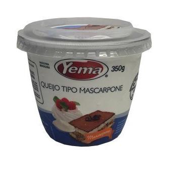 QUEIJO MASCARPONE YEMA 350 G