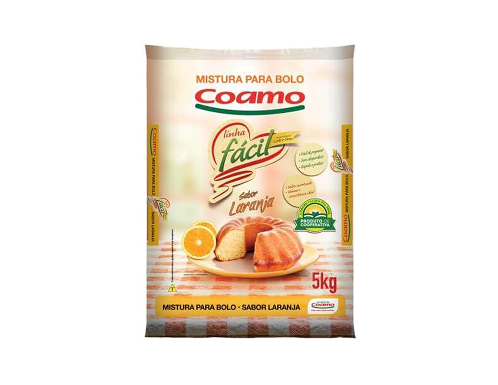 MISTURA P/ BOLO LARANJA COAMO 5 KG