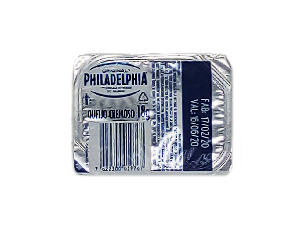 CREAM CHEESE SACHÊ PHILADELPHIA 18 G