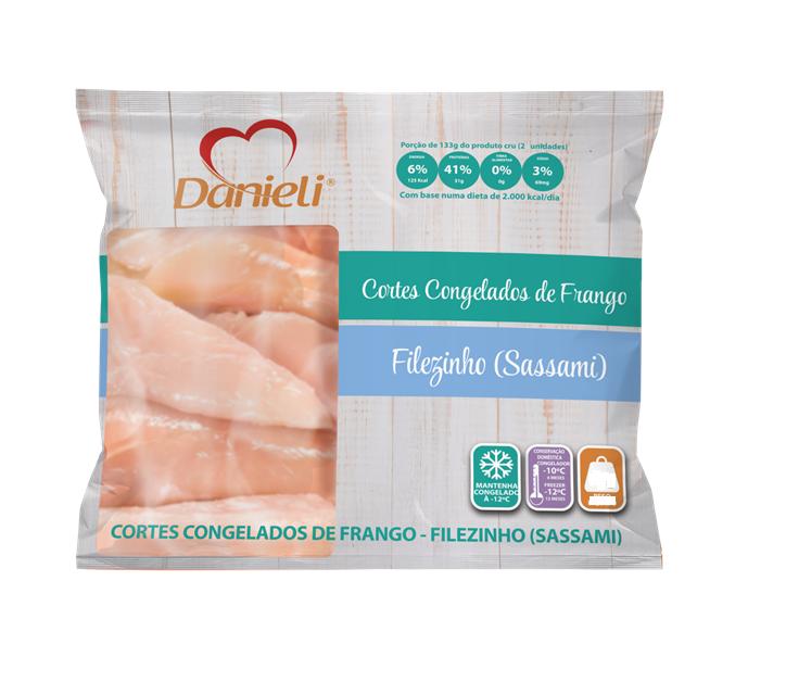 SASSAMI DE FRANGO DANIELI 1 KG