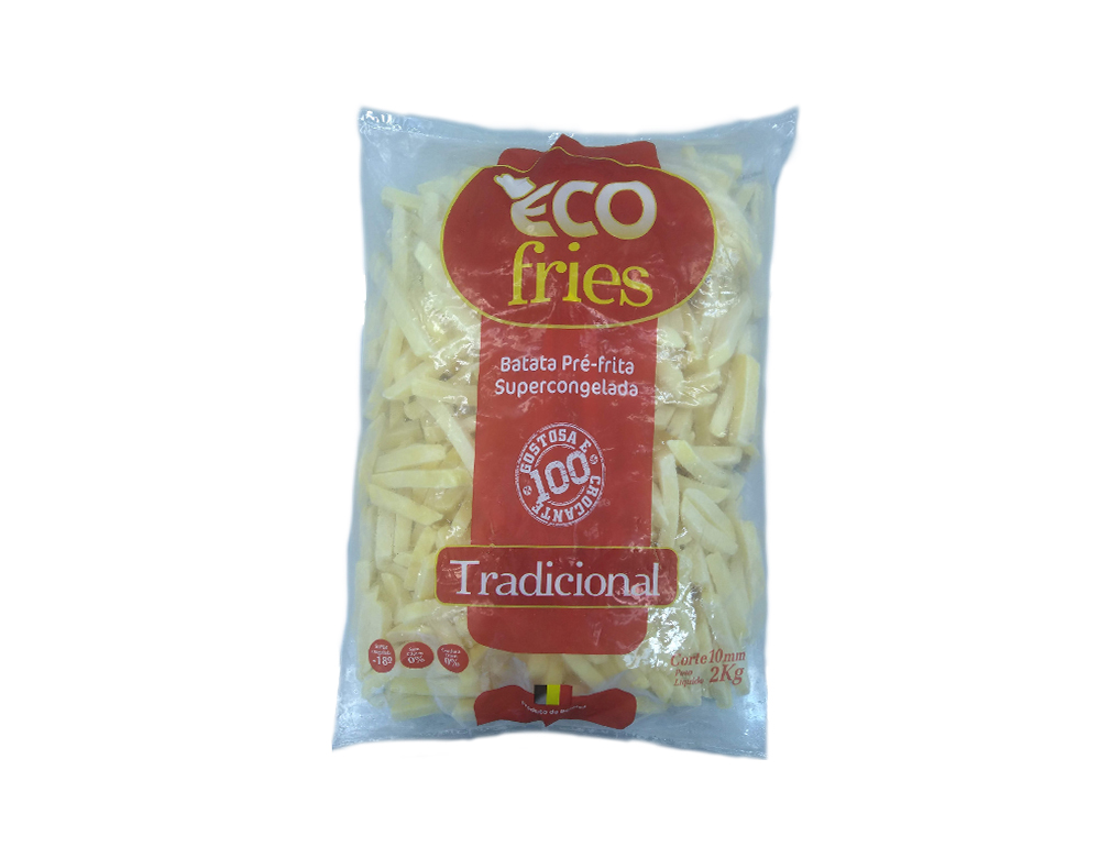 BATATA CONGELADA PALITO 10 MM ECOFRIES 2 KG