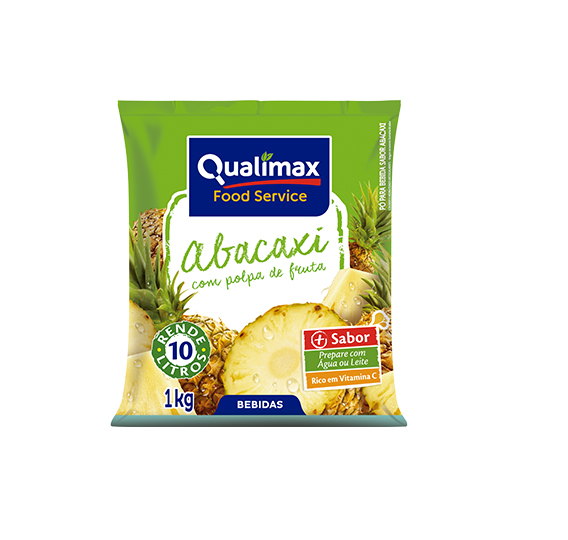 REFRESCO ABACAXI QUALIMAX 1 KG