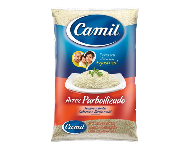 ARROZ PARBOILIZADO CAMIL 5 KG