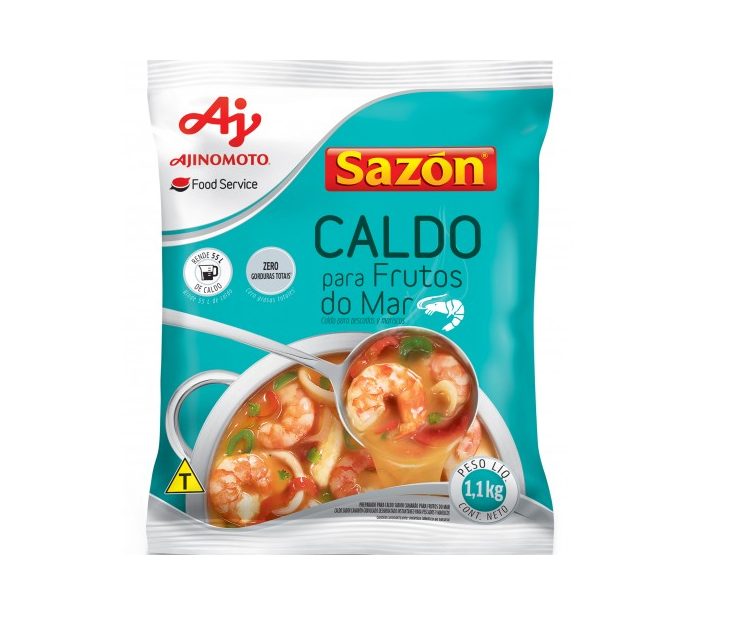 CALDO DE FRUTOS DO MAR FOOD SERVICE SAZÓN 1,1 KG