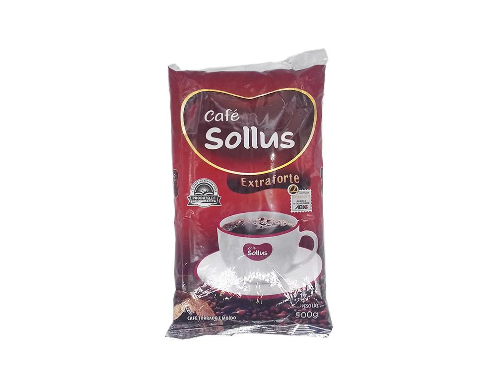 CAFÉ EXTRA FORTE SOLLUS 500 G