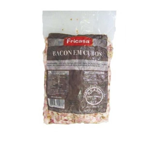 BACON CUBO FRICASA 1 KG