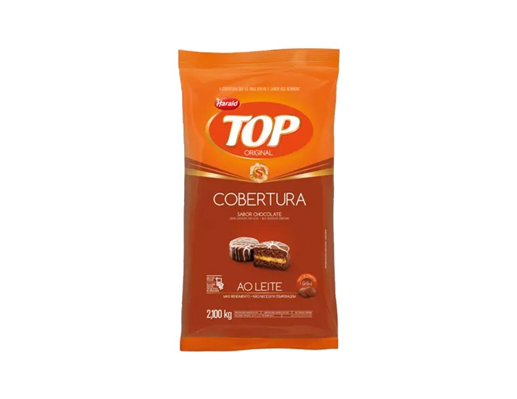 CHOCOLATE GOTAS AO LEITE TOP HARALD 2,1 KG