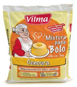 MISTURA P/ BOLO CENOURA VILMA 5 KG
