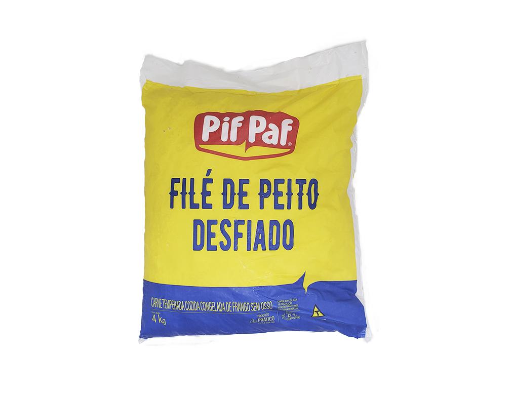 FRANGO DESFIADO PIF PAF 4 KG