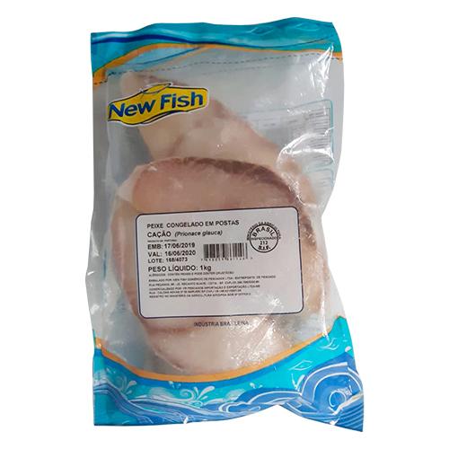 POSTA DE CAÇÃO CONGELADO NEW FISH 1 KG
