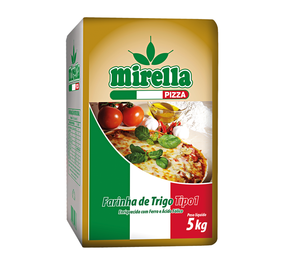 FARINHA DE TRIGO PIZZA MIRELLA 5 KG