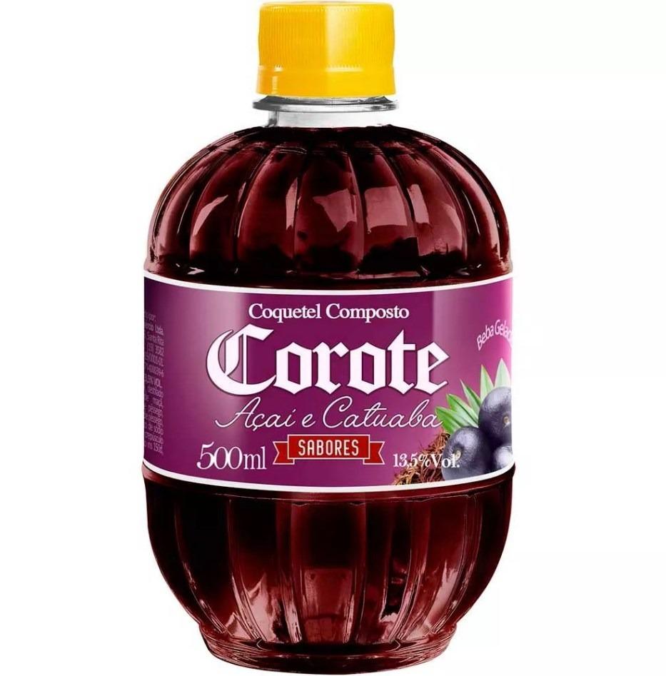 COQUETEL AÇAÍ E CATUABA COROTE 500 ML