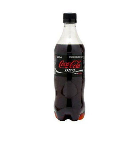 COCA COLA ZERO PET 600 ML