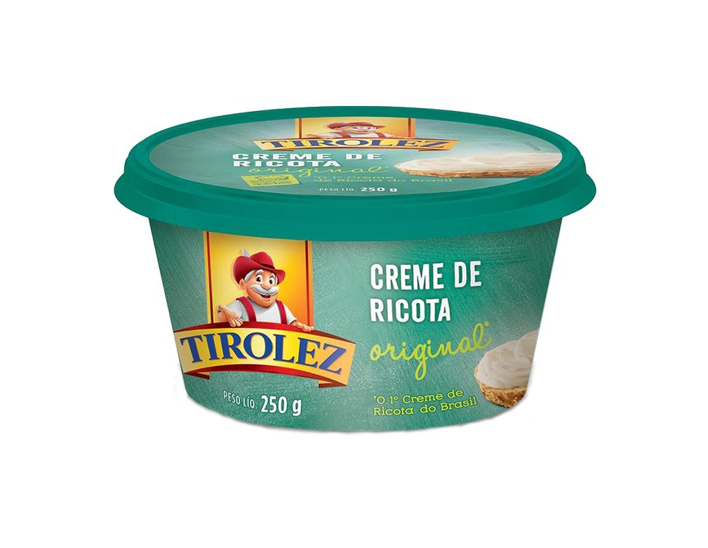 CREME DE RICOTA TIROLEZ 200 G