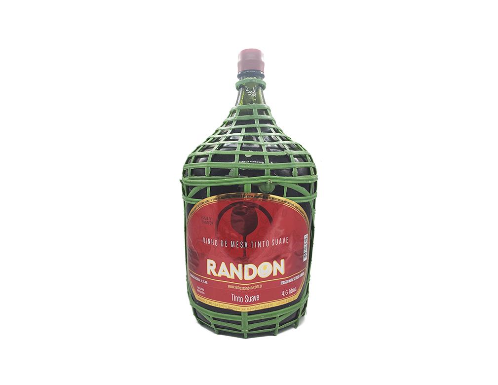 VINHO NACIONAL TINTO SUAVE RANDON 4,6 L