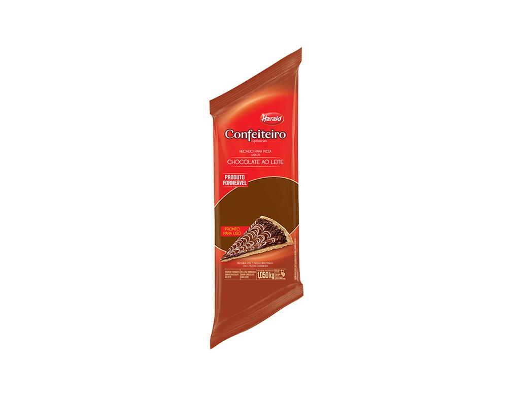 CHOCOLATE FORNEÁVEL AO LEITE HARALD 1,050 KG