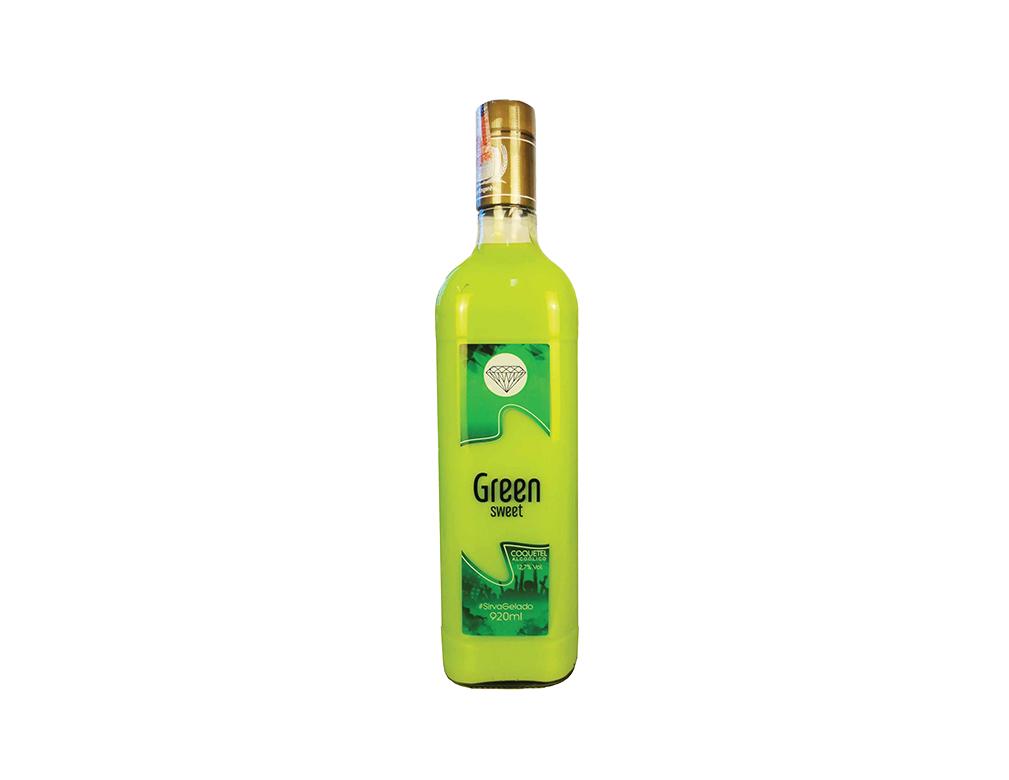 COQUETEL GREEN SWEET PINGA VERDE 920 ML