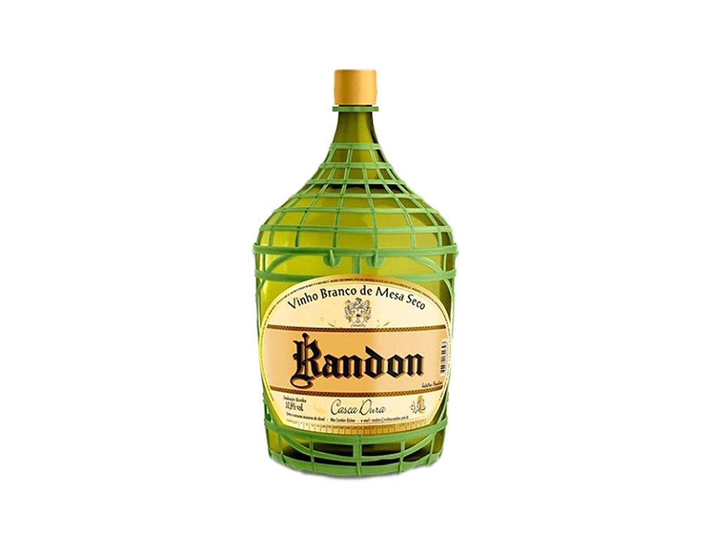 VINHO NACIONAL BRANCO SECO RANDON 4,6 L