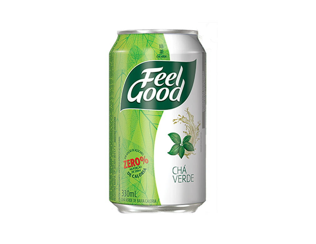CHÁ FEEL GOOD VERDE LATA 330 ML