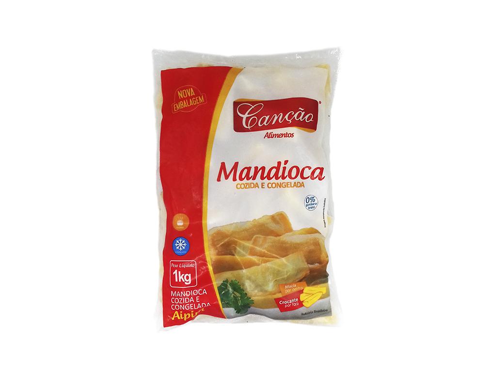 MANDIOCA CONGELADA CANÇÃO 1 KG