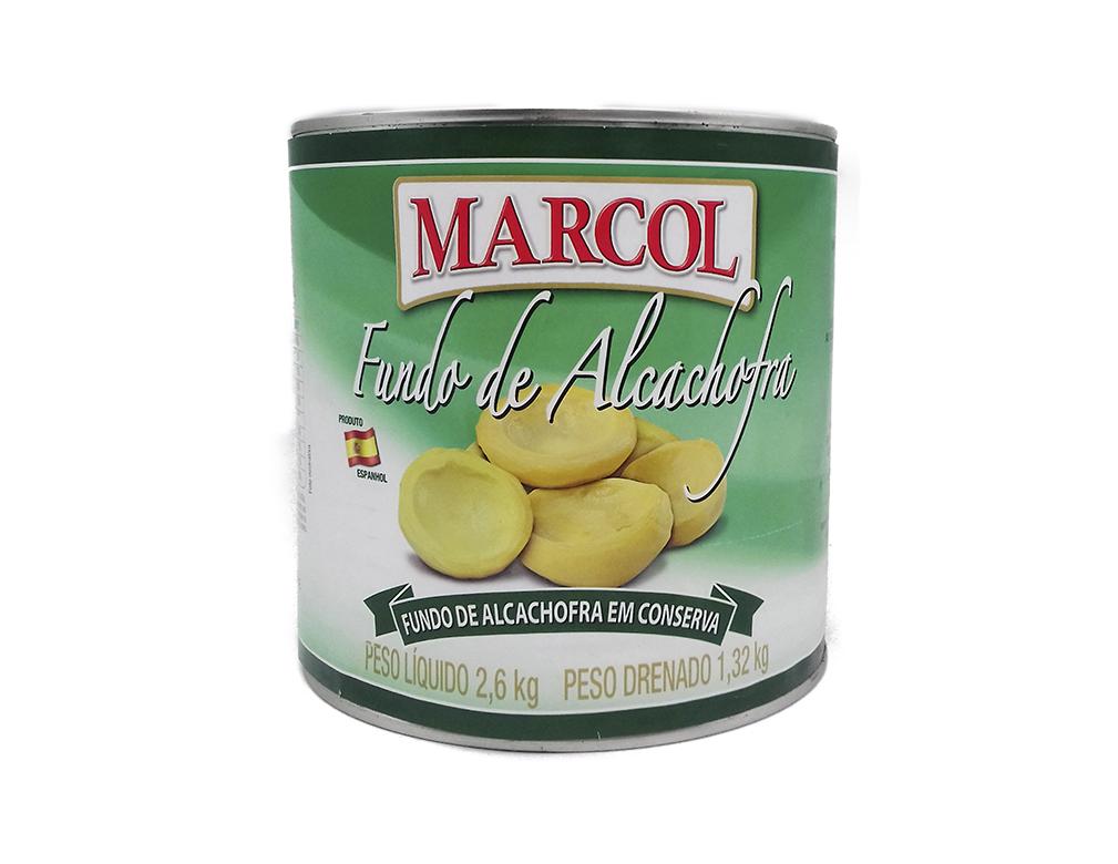 ALCACHOFRA FUNDO MARCOL 2,6 KG