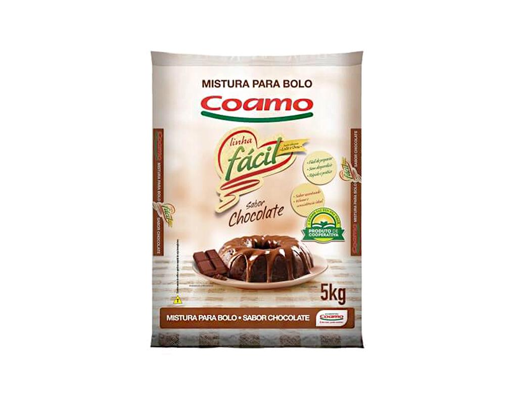 MISTURA P/ BOLO CHOCOLATE COAMO 5 KG