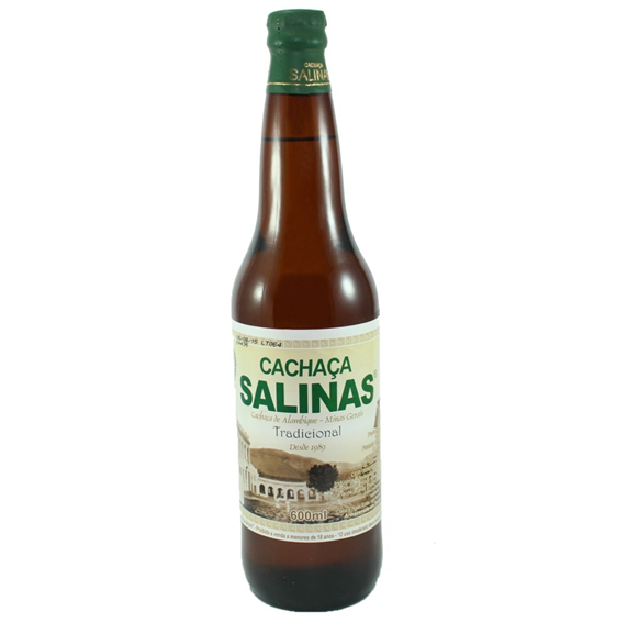 CACHAÇA TRADICIONAL SALINAS 600 ML