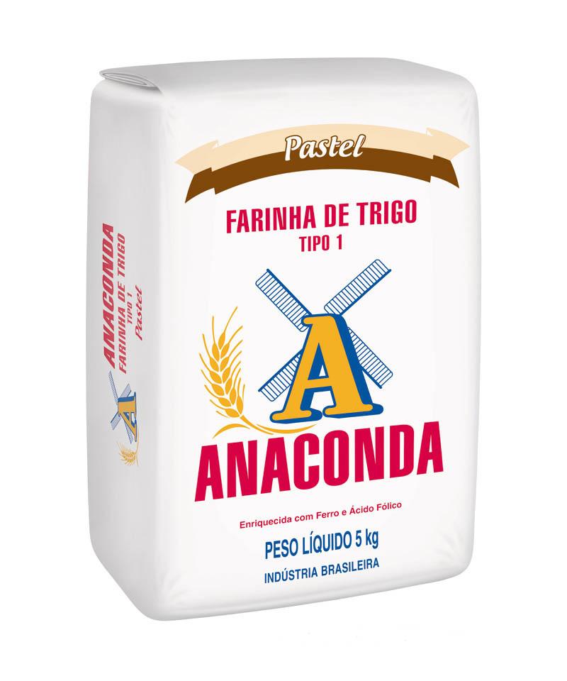 FARINHA DE TRIGO PASTEL ANACONDA 5 KG