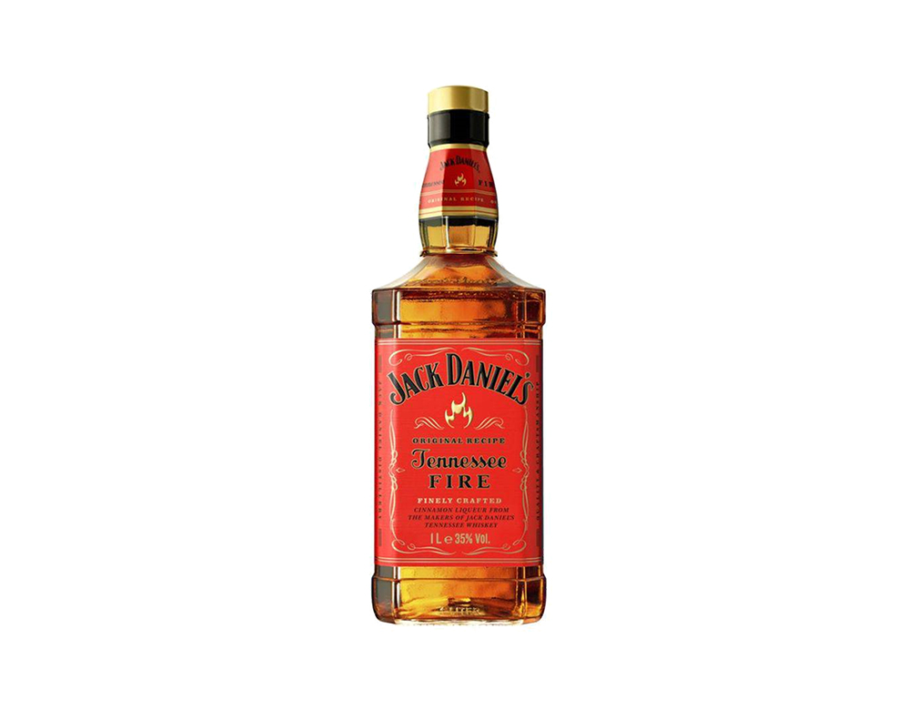 WHISKY JACK DANIEL´S TENNESSEE FIRE 1 L