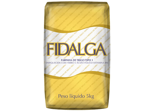 FARINHA DE TRIGO FIDALGA 5 KG
