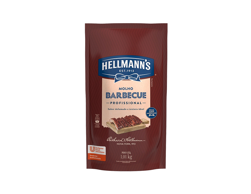 MOLHO BARBECUE HELLMANN´S 1,01 KG