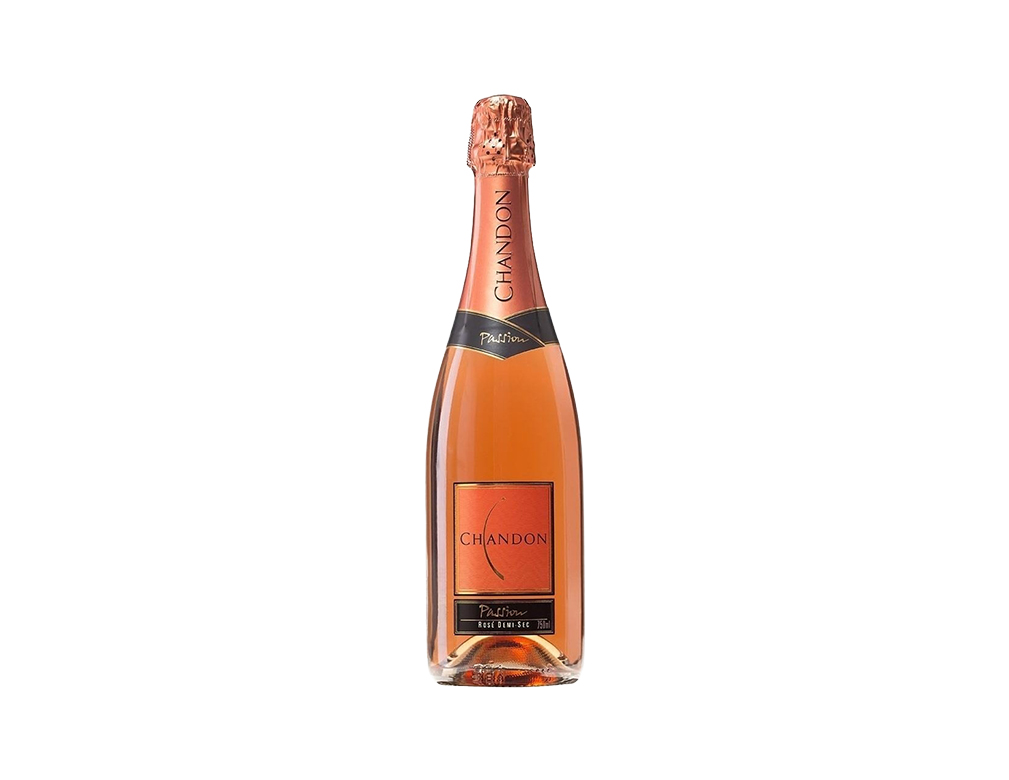 ESPUMANTE CHANDON PASSION ON ICE ROSÉ MEIO DOCE 750 ML