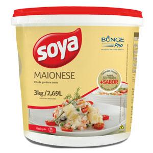 MAIONESE SOYA 3 KG