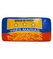 QUEIJO COALHO BARRA PEQUENO TRÊS MARIAS 3 KG