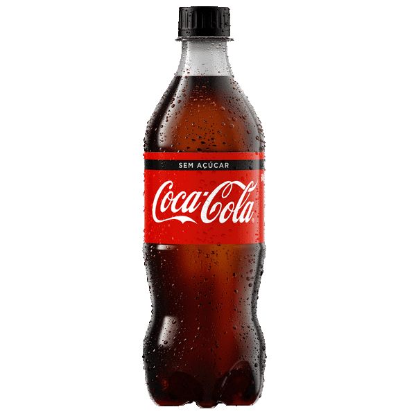 COCA COLA SEM AÇÚCAR PET 600 ML