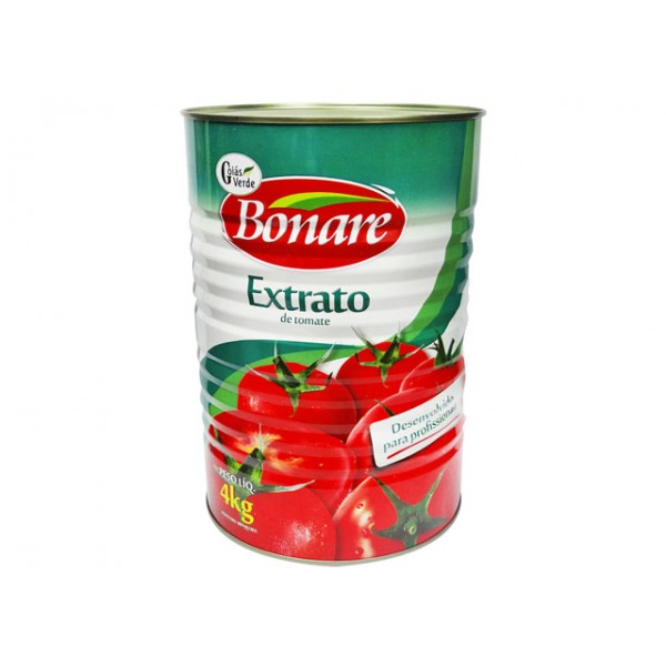 EXTRATO DE TOMATE BONARE GOIÁS VERDE 4 KG