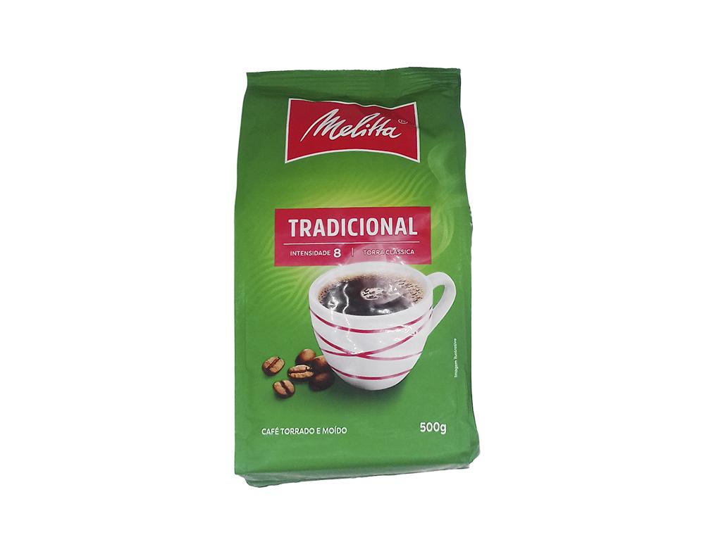 CAFÉ TRADICIONAL MÉDIO MELITTA 500 G