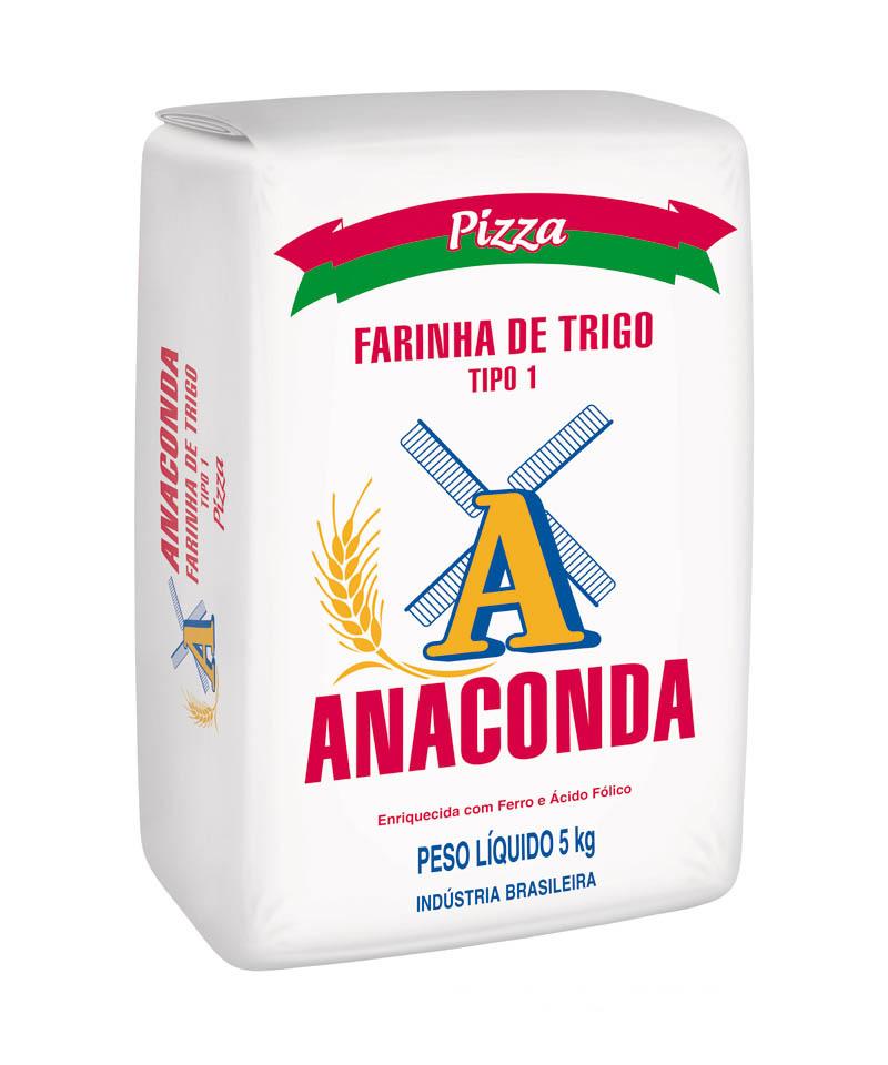 FARINHA DE TRIGO PIZZA ANACONDA 5 KG