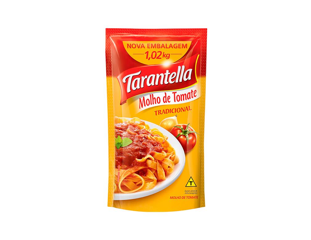 MOLHO TOMATE PEQUENO TRADICIONAL TARANTELLA 1,02 KG