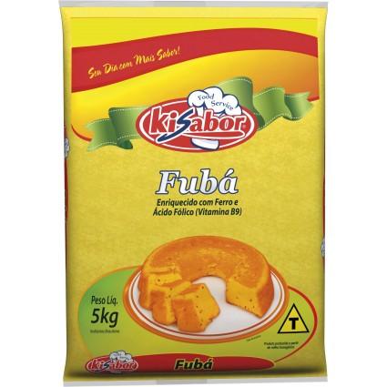 FUBÁ MIMOSO KI SABOR 5 KG