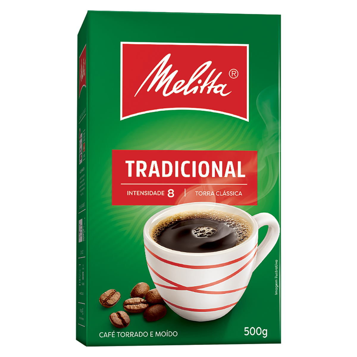 CAFÉ MELITTA MÉDIO 500 G