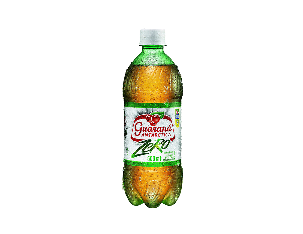 GUARANÁ ANTARCTICA SEM AÇÚCARES PET 600 ML