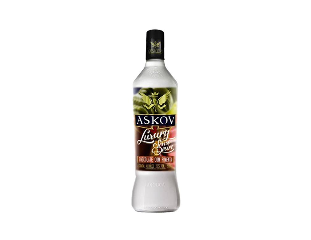 VODKA ASKOV CHOCOLATE COM PIMENTA 900 ML