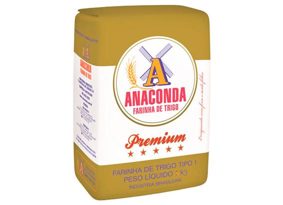 FARINHA DE TRIGO PREMIUM ANACONDA 5 KG