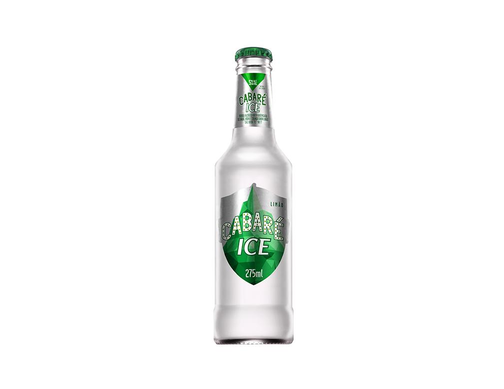 VODKA E CACHAÇA CABARÉ ICE LONG NECK 275 ML