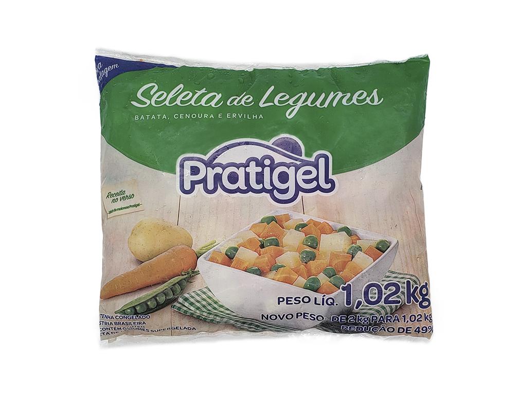 SELETA DE LEGUMES CONGELADA PRATIGEL 1,02 KG
