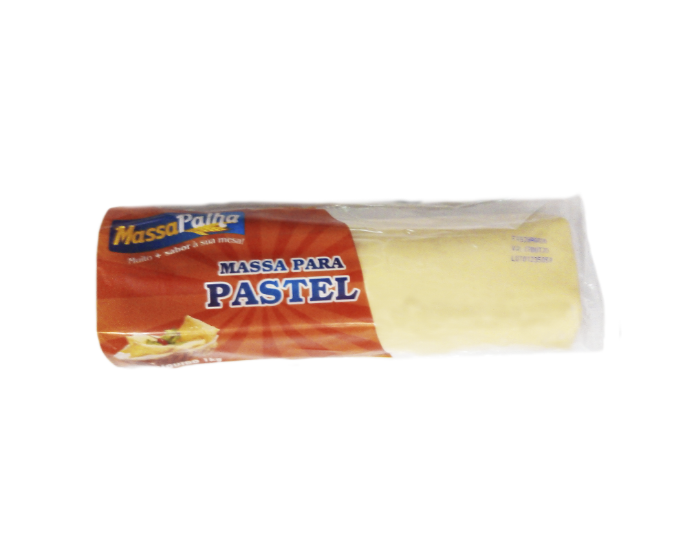 MASSA P/ PASTEL ROLO MASSA PALHA 1 KG