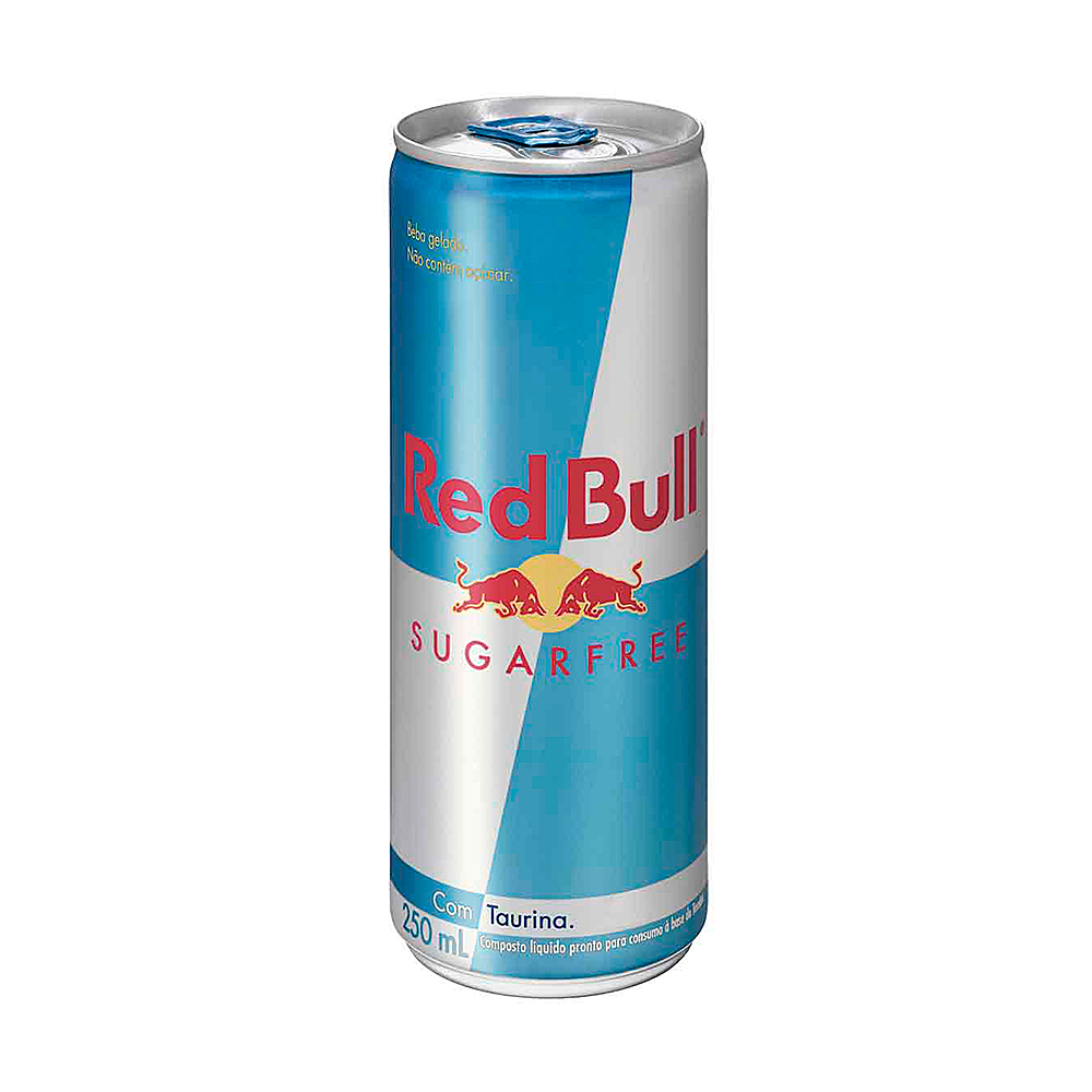 ENERGÉTICO SUGAR FREE RED BULL 250 ML
