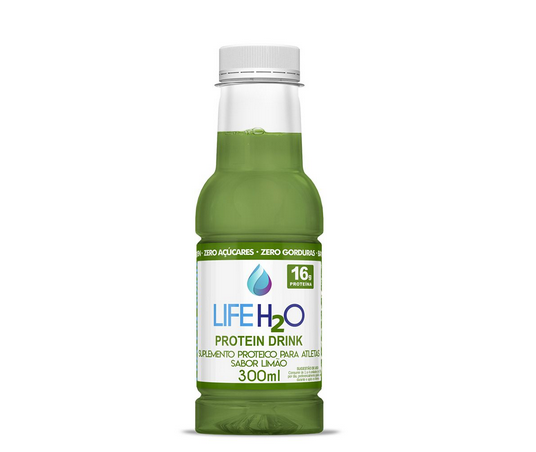 LIFE H2O PROTEIN DRINK LIMÃO PET 300 ML